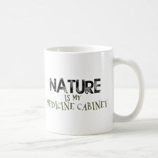 La naturaleza es mi botiquín taza clásica