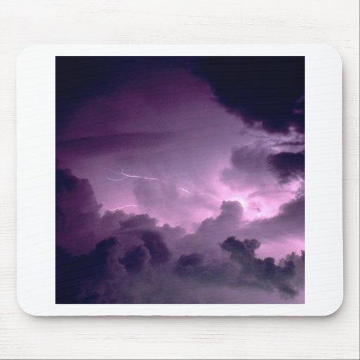 La naturaleza fuerza el clima tempestuoso alfombrilla de ratones
