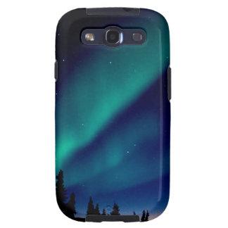 La naturaleza fuerza la aurora Borealis Alaska Galaxy S3 Cárcasa