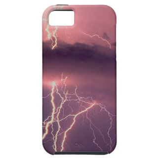 La naturaleza fuerza rayo iPhone 5 Case-Mate protectores