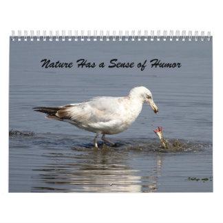 La naturaleza tiene un sentido del humor calendario