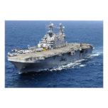 La nave de asalto de carros anfibios USS Peleliu Fotografía