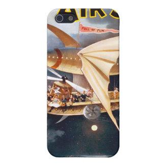 La nave del aire, caja de la mota del iPhone iPhone 5 Protectores