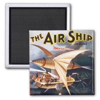 La nave del aire, imán