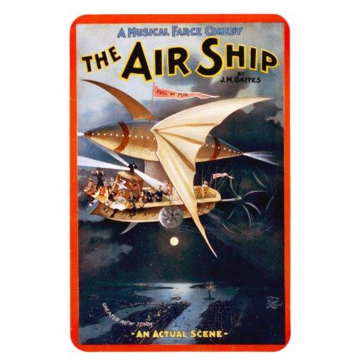 La nave del aire, imán superior