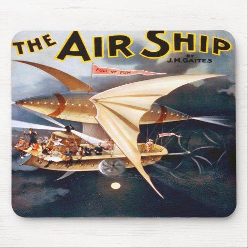 La nave del aire, Mousepad Tapete De Ratón