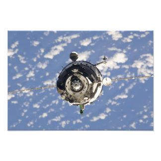 La nave espacial de Soyuz TMA-01M Fotografias