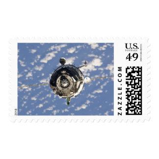 La nave espacial de Soyuz TMA-01M Envio