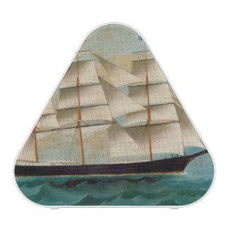La nave Fleetwing, bahía de Hong Kong Altavoz