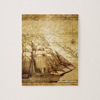 La nave más vieja del mapa del mundo puzzle