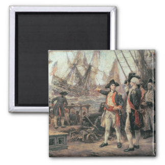 La nave que hundió la victoria, 1779 imán cuadrado