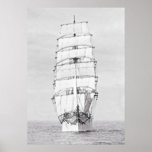 La nave Viking 1902 Póster
