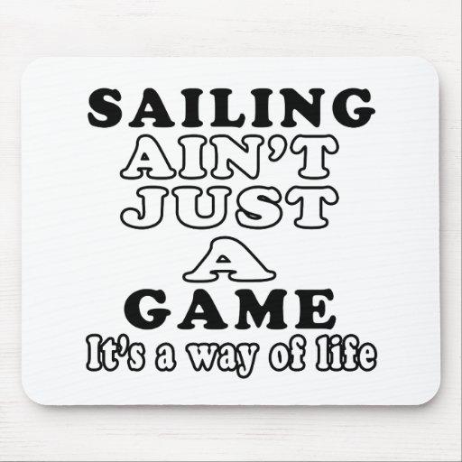 La navegación no es apenas un juego que es una man tapete de raton