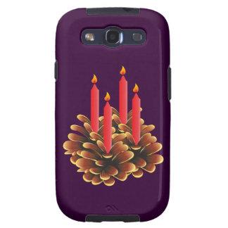 La navidad adviento candela christmas candles