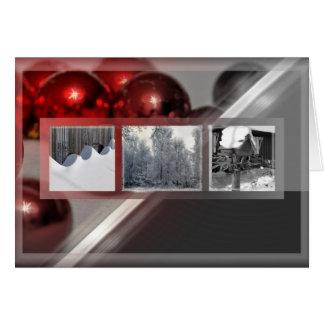 La navidad tarjetas