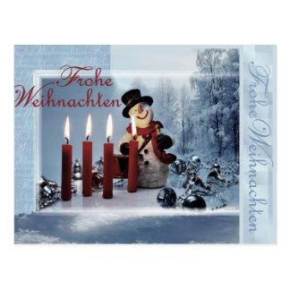 La navidad tarjetas postales