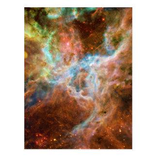 La nebulosa 30 Doradus NGC 2070 del Tarantula Postal