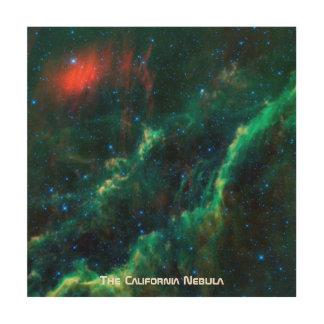 La nebulosa de California Impresiones En Madera