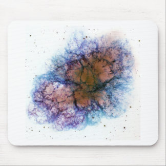 La nebulosa de cangrejo alfombrilla de ratones