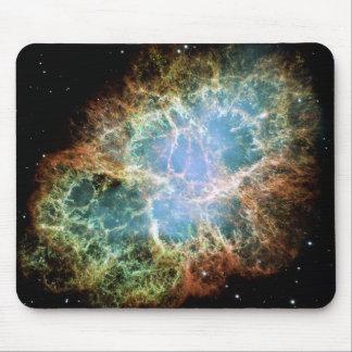 La nebulosa de cangrejo alfombrillas de raton