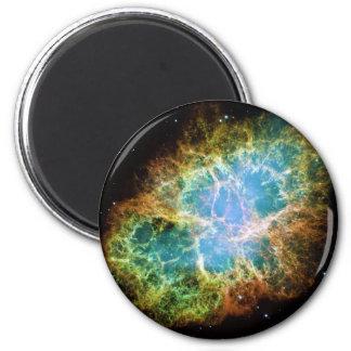 La nebulosa de cangrejo del telescopio espacial de imán redondo 5 cm