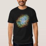 La nebulosa de cangrejo, en una camiseta camisas