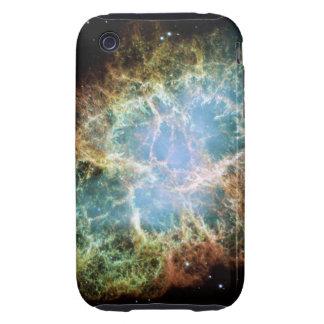 La nebulosa de cangrejo funda resistente para iPhone 3