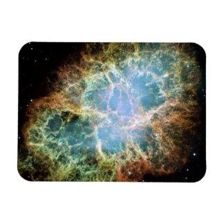 La nebulosa de cangrejo imán rectangular