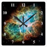 La nebulosa de cangrejo reloj
