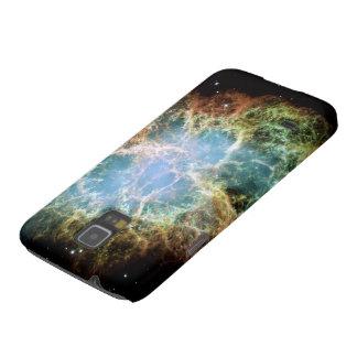 La nebulosa de cangrejo Samsung llama por teléfono Carcasa Para Galaxy S5