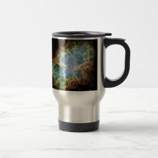 La nebulosa de cangrejo taza de viaje