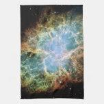 La nebulosa de cangrejo toallas de mano