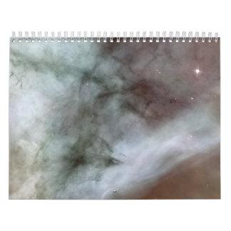 La nebulosa de Carina detalla Caterpillar Calendario De Pared