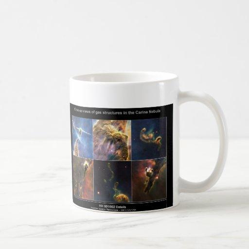 La nebulosa de Carina detalla la taza