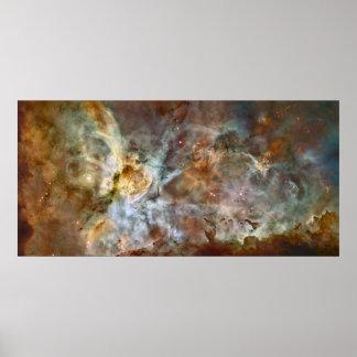 La nebulosa de Carina Posters