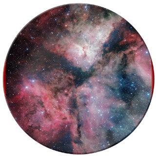 La nebulosa de Carina reflejada por la encuesta Platos De Cerámica
