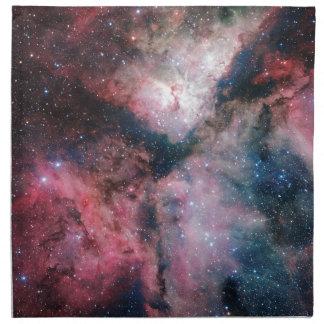 La nebulosa de Carina reflejada por la encuesta Servilletas