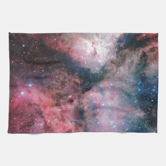 La nebulosa de Carina reflejada por la encuesta Toalla De Mano