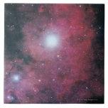 La nebulosa de Dumbell Azulejo Cuadrado Grande