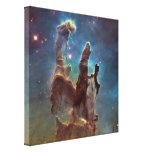 La nebulosa de Eagle aka los pilares de la Impresion En Lona
