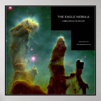 La nebulosa de Eagle - posters del espacio