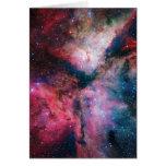 La nebulosa de estrella-formación espectacular de  felicitación