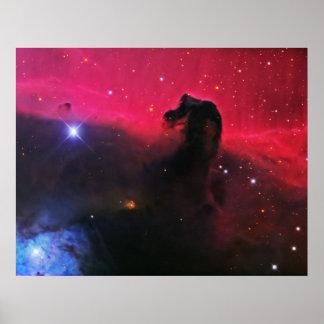 La nebulosa de Horsehead Poster