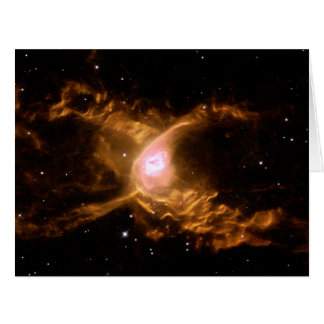 La nebulosa de la araña tarjeta de felicitación grande