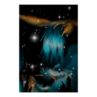 La nebulosa de la cascada poster