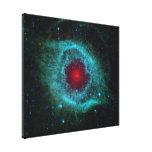La nebulosa de la hélice impresiones en lona estiradas