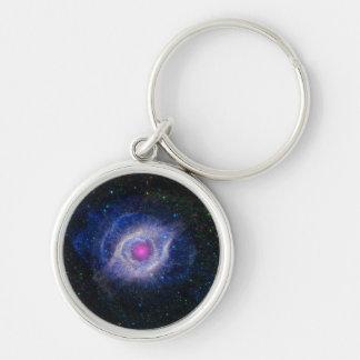 La nebulosa de la hélice llaveros personalizados