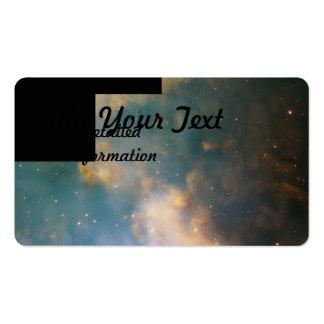 La nebulosa de la pesa de gimnasia (M27) Plantilla De Tarjeta Personal
