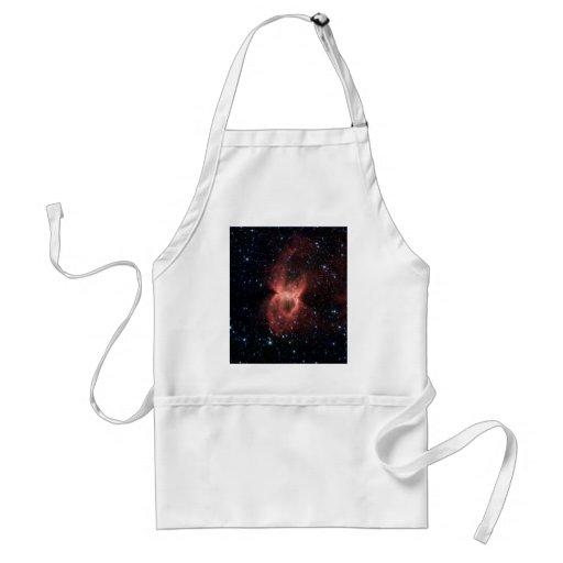 La nebulosa de la viuda negra delantales