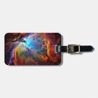 La nebulosa de Orión Etiquetas Para Equipaje